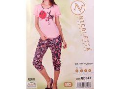 Комплект футболка + капри ТМ Nicoletta  82341 XL