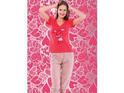 Комплект футболка + капри Turteks T4129-1