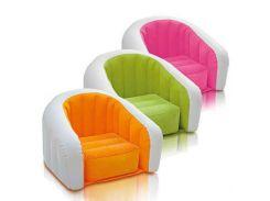 Надувное кресло Intex 68597 (69-56-48 см.) Оранжевый