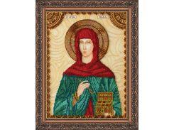 Набор для вышивки бисером именной иконы  «Святая Зинаида»