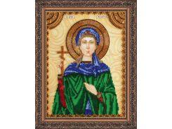 Набор для вышивки бисером именной иконы  «Святая Пелагея»