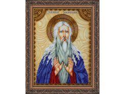 Набор для вышивки бисером именной иконы  «Святой Макарий (Макар)»