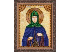 Набор для вышивки бисером именной иконы  «Святая Евдокия»