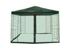 Садовый павильон с москитной сеткой Green 3х3 м DU171 Зеленый