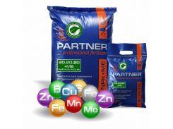 Водорастворимое комплексное удобрение Partner NPK 20.20.20+S+ME Standart 25 кг