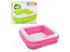 Бассейн надувной для малышей | «Intex»