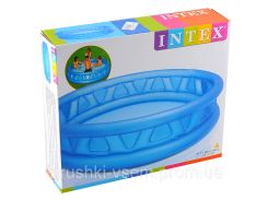 Детский надувной бассейн «Летающая тарелка» | «Intex»