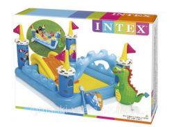Детский надувной центр «Замок» | «Intex»