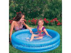 Детский надувной бассейн «Хрустальный» | «Intex»