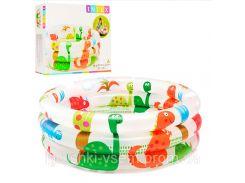 Надувной бассейн «Динозаврики» | «Intex»