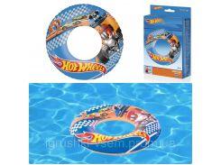 Детский надувной круг для плавания «Hot Wheels» | «Bestway»