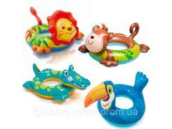 Детский надувной круг для плавания «Животные» | «Intex»