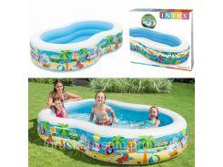 Детский надувной бассейн «Райская Лагуна» | «Intex»