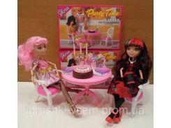 Игрушечная мебель для куклы стол с креслами | «Gloria»