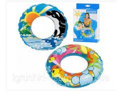 Детский надувной круг для плавания «ATLANTIC 61» | «Intex»