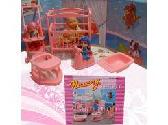 Мебель игрушечная для кукол «Gloria» | «Детская комната»