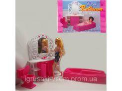 Набор кукольной мебели «Gloria» | Ванная комната