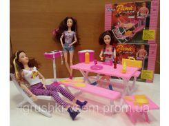 Игрушечный набор мебели для Барбекю | «Gloria»