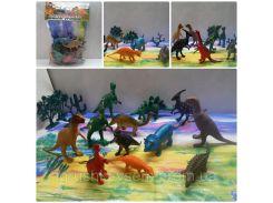 Набор фигурок Динозавры - 12 | «Dino World»