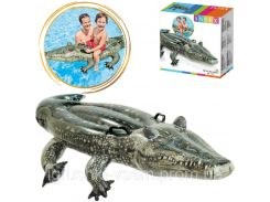 Надувной плотик для плавания «Аллигатор» | Intex