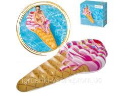 Надувной пляжный матрас Мороженое| «Intex»