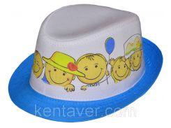Шляпа детская челентанка фотопринт Лелики