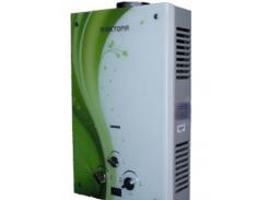 Газовая колонка Виктория JSD 10 дисплей зелёная волна