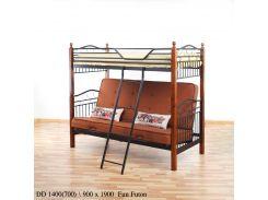 Двухъярусная кровать DD Fun Futon терракот Onder Mebli