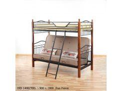 Двухъярусная кровать DD Fun Futon беж Onder Mebli