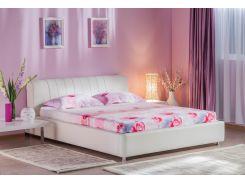 Кровать Релакс 180 белая Embawood