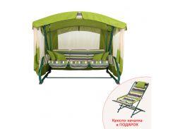 Качели садовые Алиса + кресло-качалка Vitan