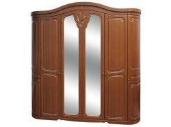 Шкаф 6Д дуб Луиза Світ Меблів
