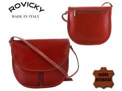 Женская кожаная сумка Rovicky TWR-22 Красный