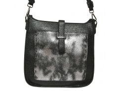 Женская сумка из экокожи DL. Accessoires 87415 Черный