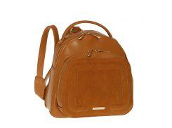 Городской рюкзак из экокожи David Jones 5207-2 Светло-коричневый
