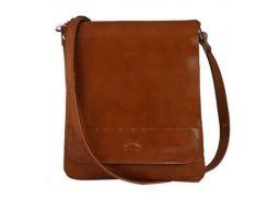 Женская кожаная сумка Rovicky TWR-10 Кэмел