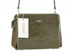 Женская сумка из экокожи David Jones CM3528 Хаки