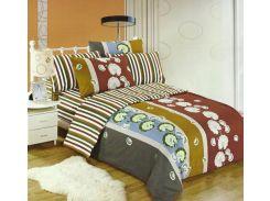 Комплект постельного белья Cotton World LW-158-6, хлопок, 160x200 см Цветной