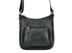 Женская кожаная сумка Silvia 1726 Черный