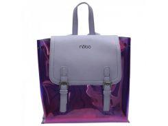 Женский городской рюкзак из экокожи Nobo P NOB 2880 19WL Светло-фиолетовый