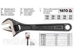 Ключ разводной розвідний L=250 мм YATO-2073