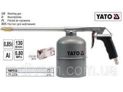 Пистолет пістолет пневматичний промивка  бачек 1л YATO-2374