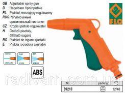 """Пистолет поливочный пістолет - зрошувач 3 режими d= 1/2"""" FLO-89210"""