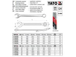 Ключ комбинированный комбінований М=55 мм l=620 мм YATO-00767