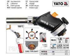 Паяльник газовий 128 кВт 1600°С до картріджа EN 417 YATO-36709