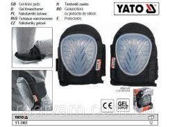 Наколенники наколінники гумово-гелеві YATO-7461