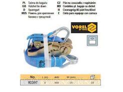 Ремень ремінь кріплення багажу тріщатка 500daN 25мм х 5м VOREL-82397