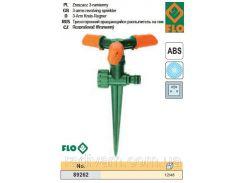Разбрызгиватель зрошувач обертовий 3 сторони піка FLO-89262