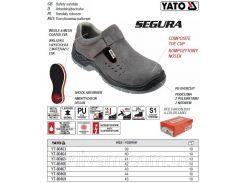 Полуботинки рабочие SEGURA кожа полиуретан размер 43 YT-80467