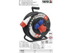 Удлинитель катушка кабель 5 жил Ø=2,5 мм² l=25 м YT-8120